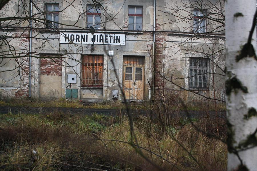 Nádraží v Horním Jiřetíně