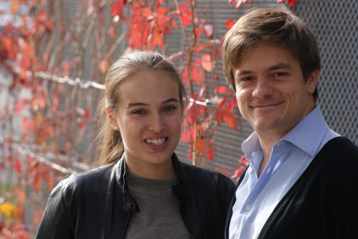 Tereza Voříšková a Jiří Mádl
