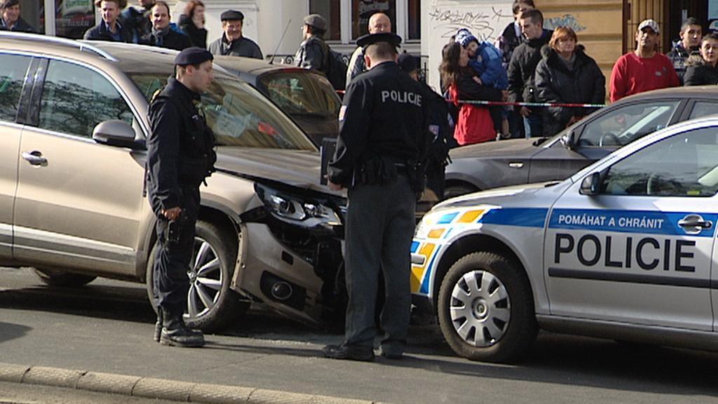 Nehoda na Karlově náměstí