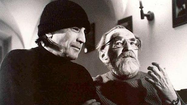 Mejla Hlavsa a Egon Bondy