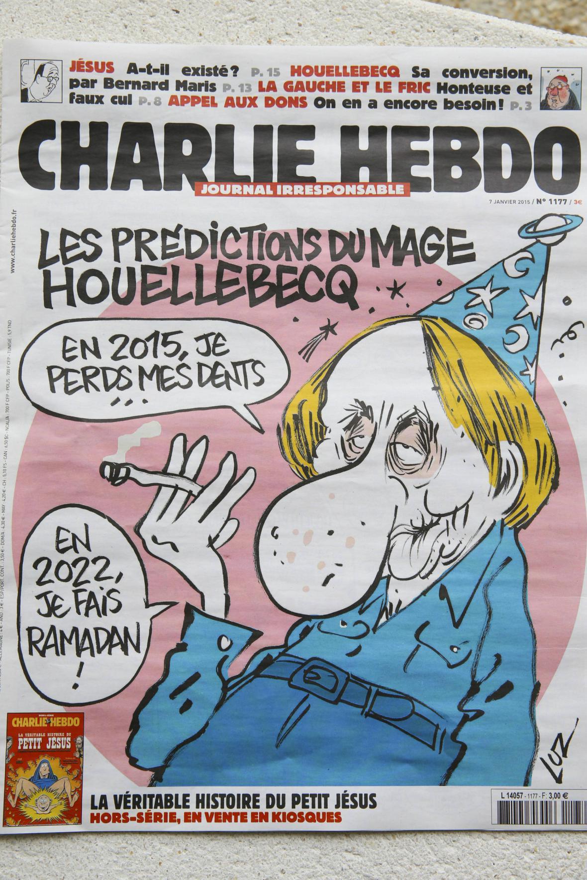 Poslední číslo Charlie Hebdo