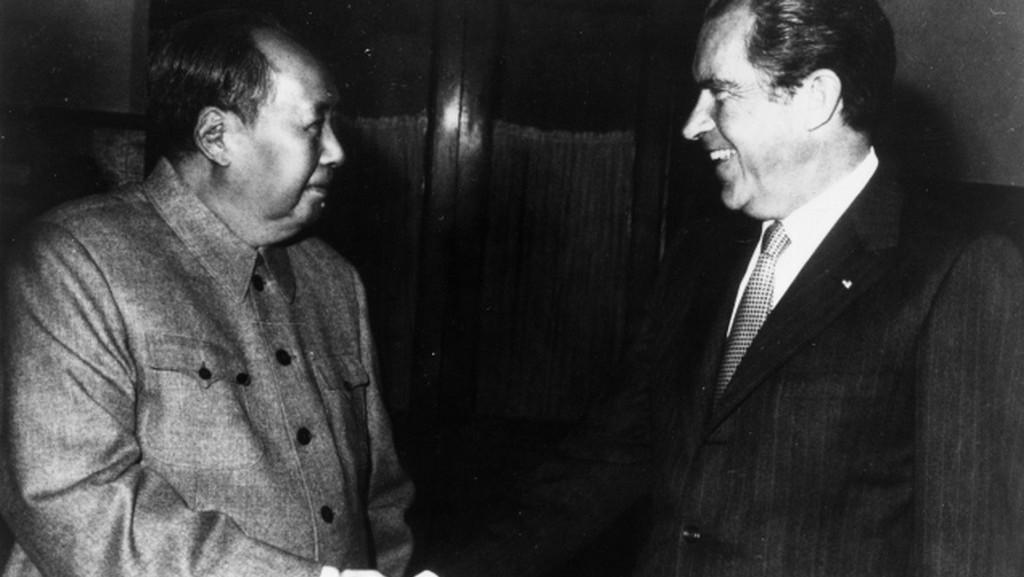 Nixon a Mao Ce-Tung