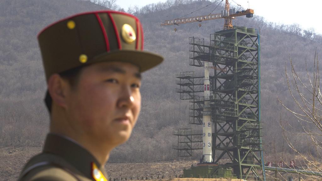 Příprava rakety v KLDR