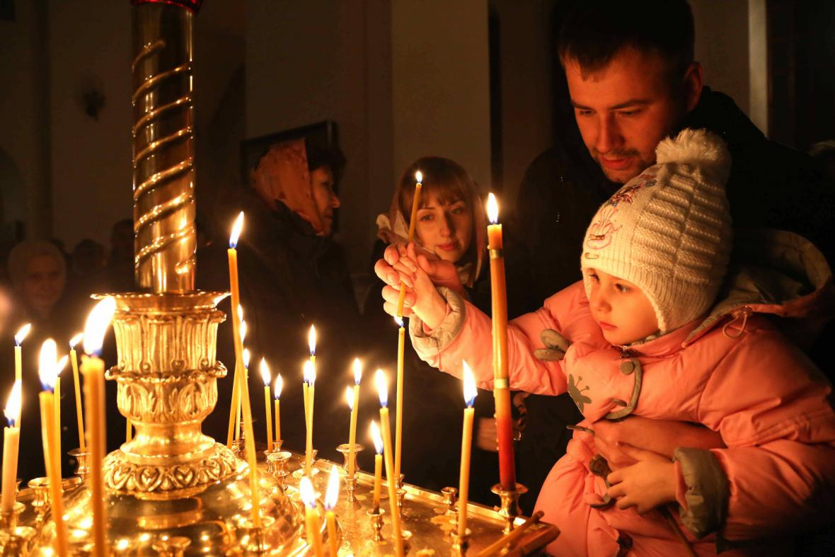 Pravoslavné Vánoce v Kazachstánu
