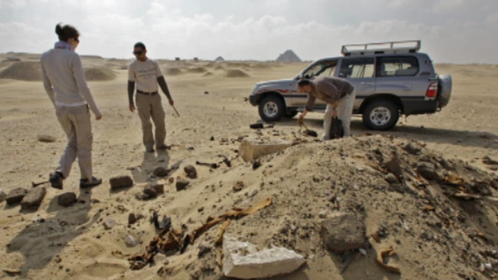 Čeští archeologové v Egyptě