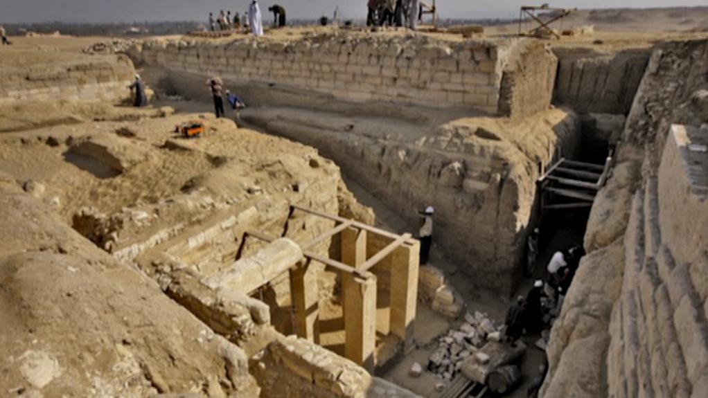 Komplex hrobek v Abúsíru
