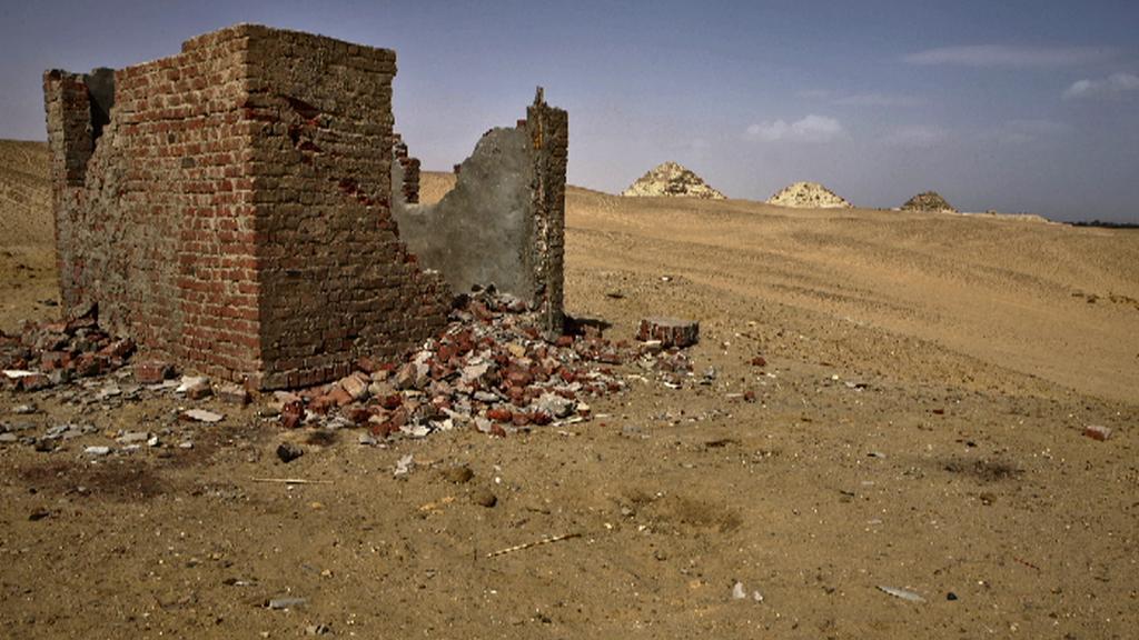 Archeologická lokalita Abúsír v Egyptě