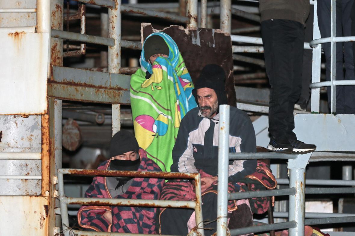 Uprchlíci na lodi Ezadeen