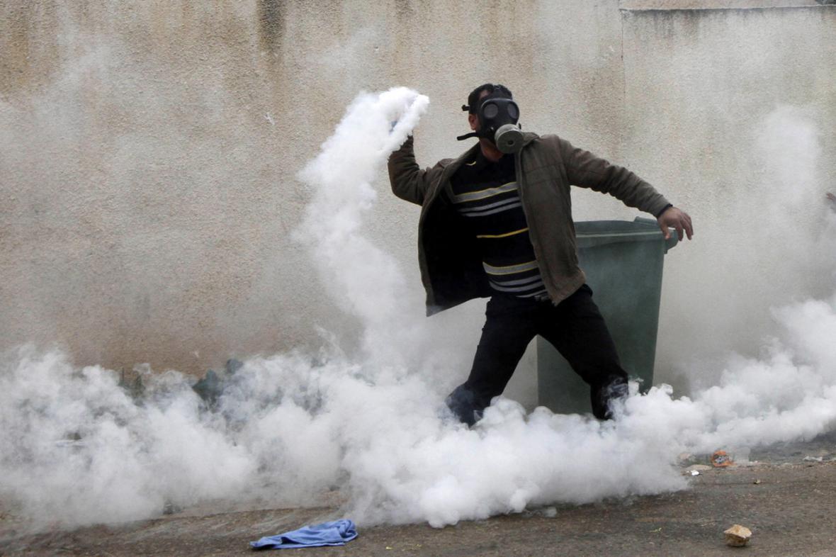 Protesty na Západním břehu