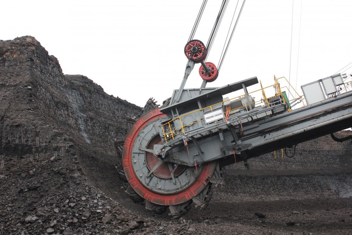 Těžba uhlí