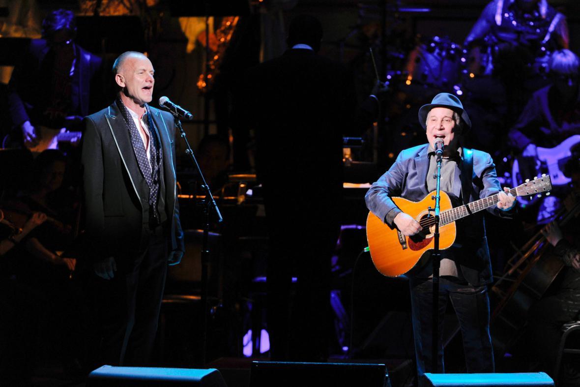 Sting a Paul Simon na společném turné