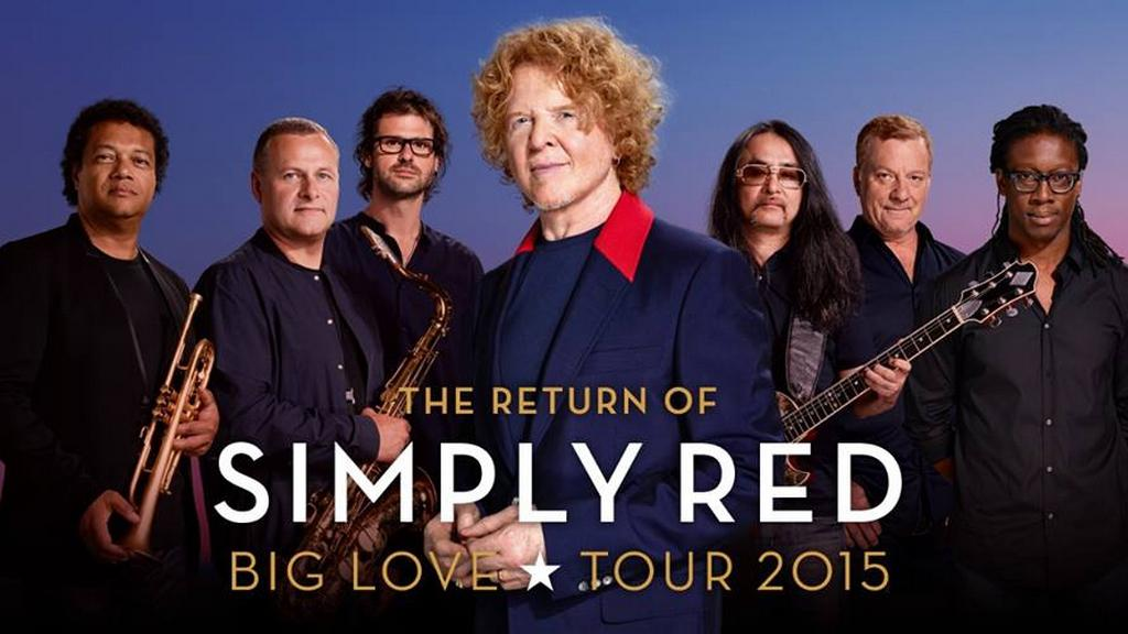 Simply Red na Big Love Tour