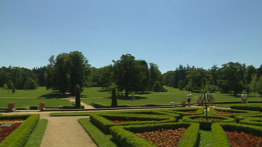 Zámecký park v Lánech