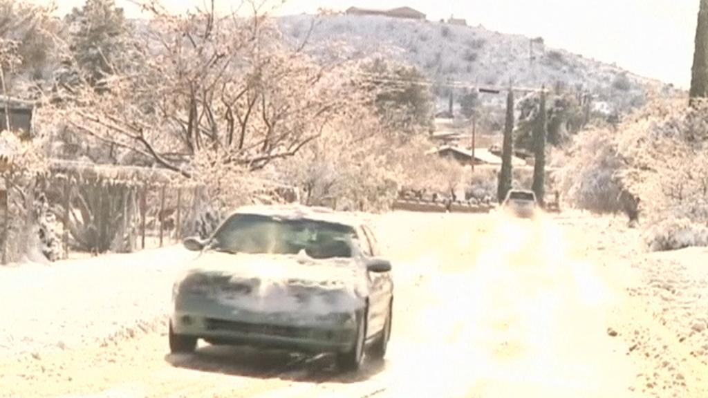 Sníh v Arizoně