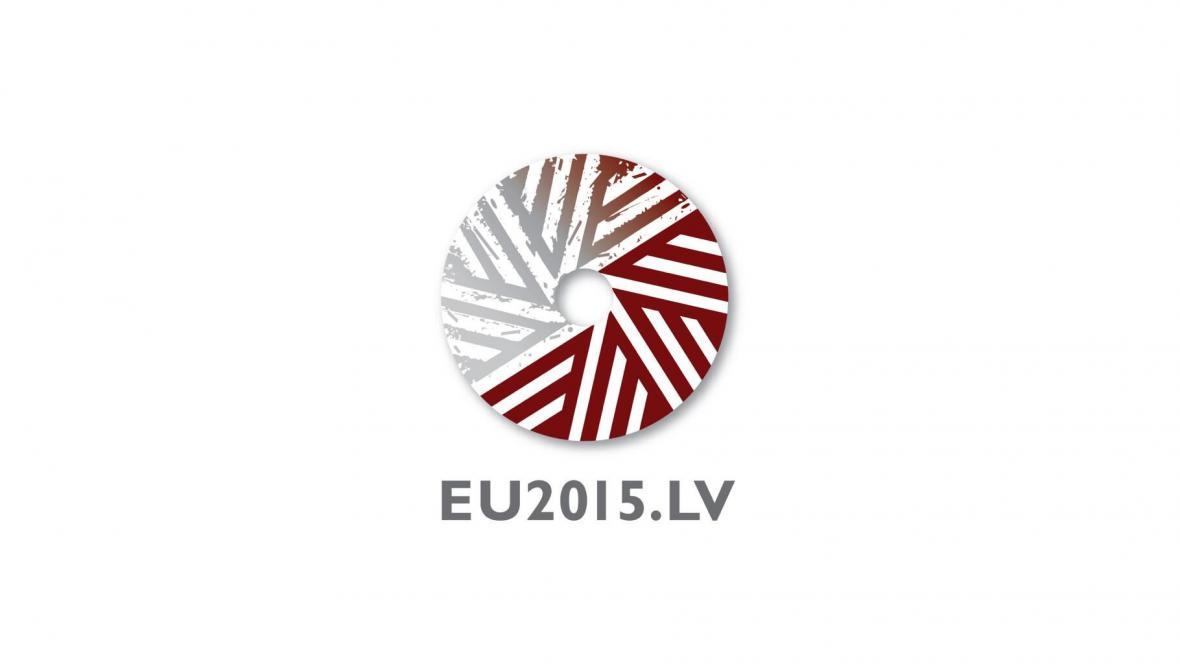 Logo lotyšského předsednictví
