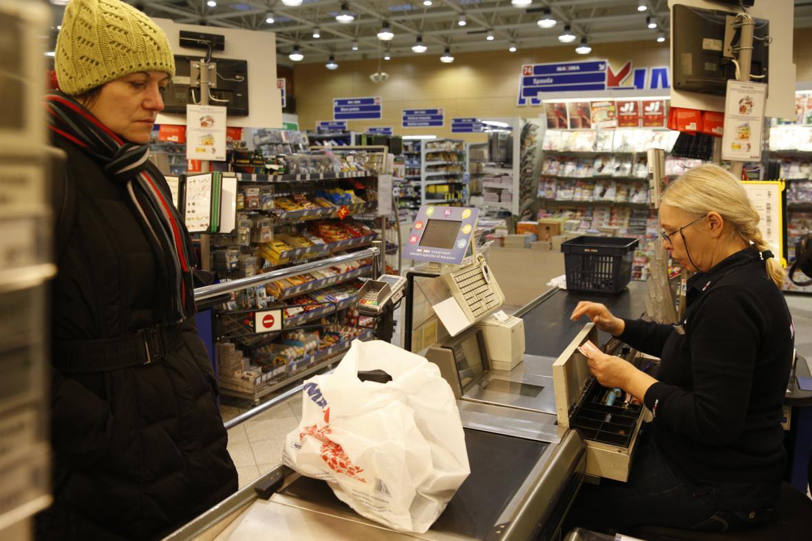Obchod ve Vilniusu