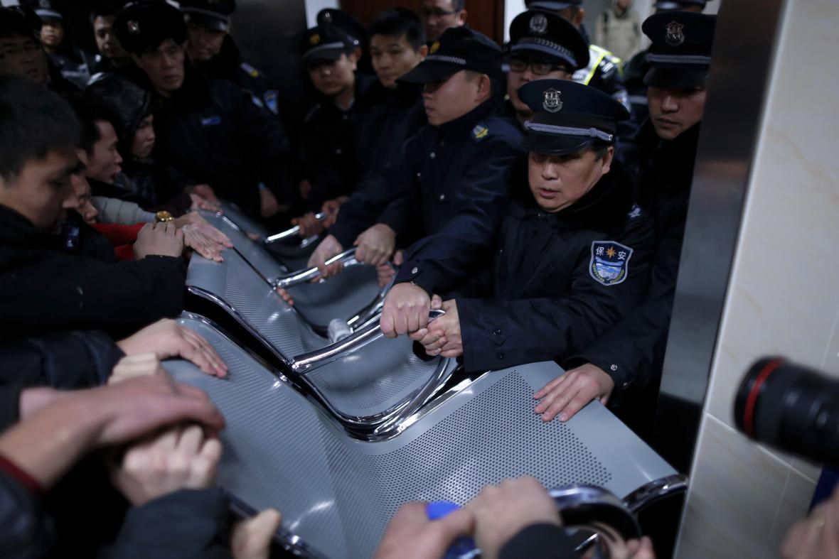 Tlačenice v Šanghaji