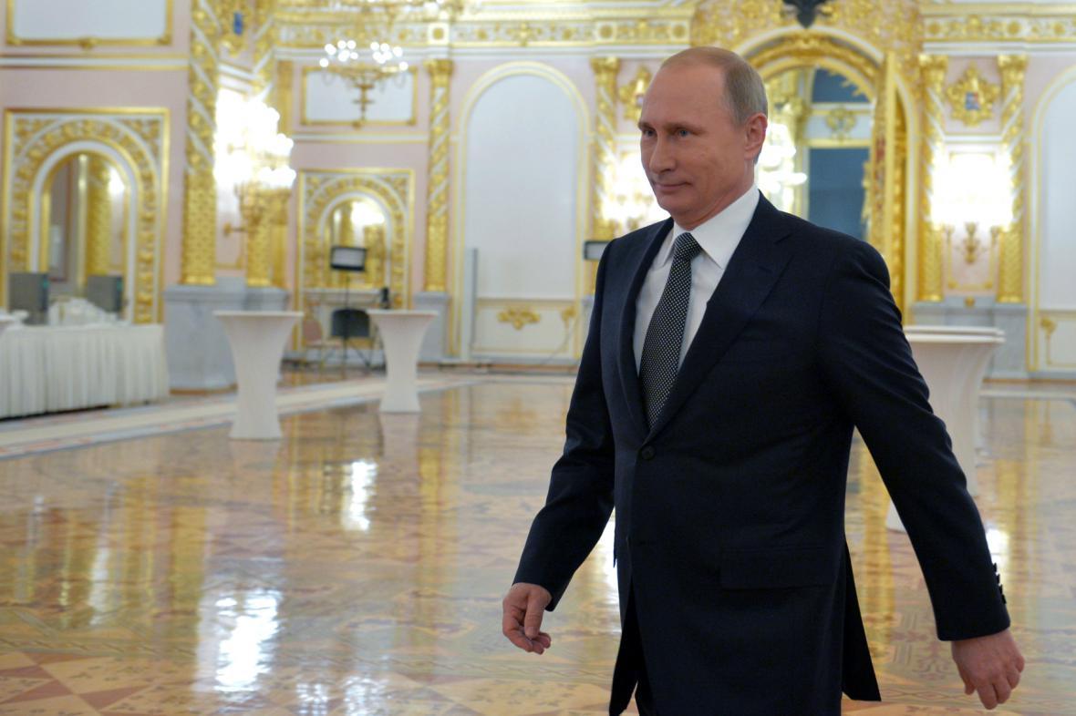 Vladimir Putin přednesl projev o stavu Ruské federace