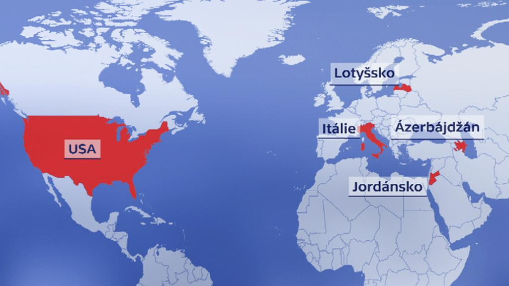 Prezident má tři cesty jisté - Jordánsko, USA a Lotyšsko