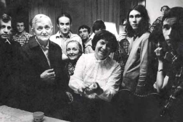 Bratr Roger a Marie Kaplanová v roce 1981