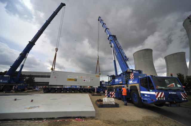 Dostavba jaderné elektrárny