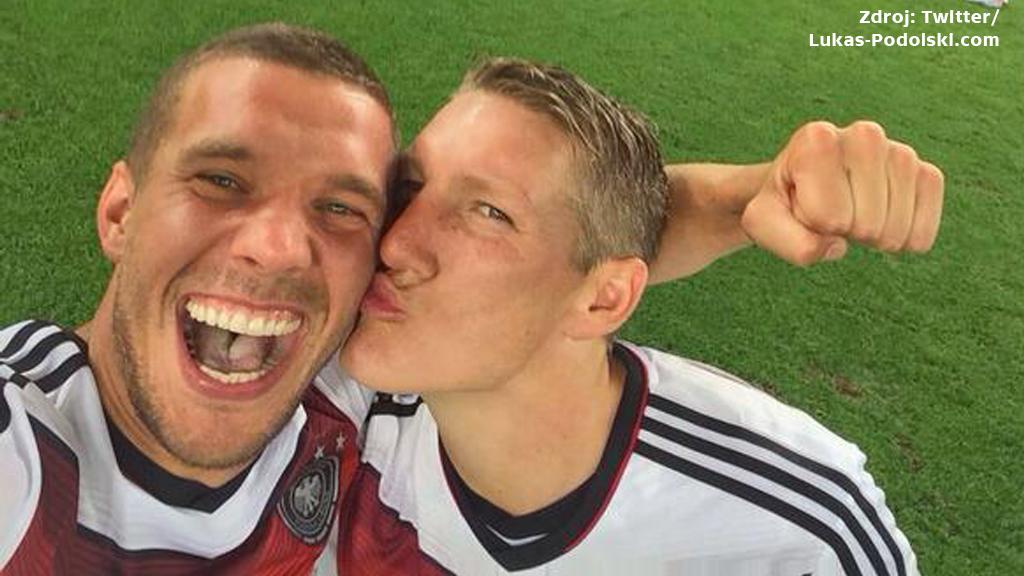 Selfie německých fotbalistů