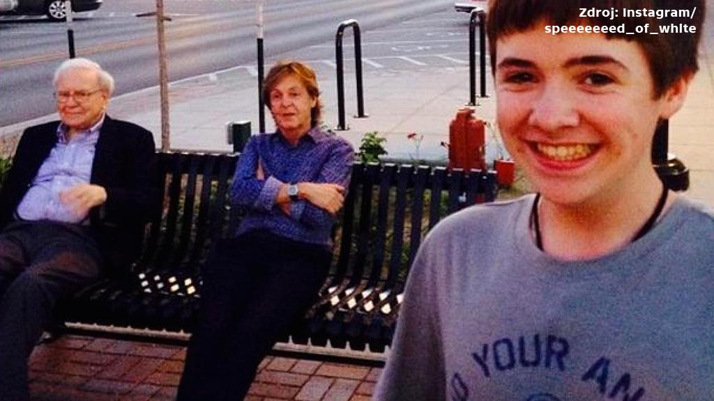 Selfie s Paulem McCartneyem