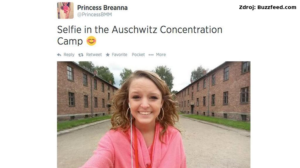 Selfie z Osvětimi