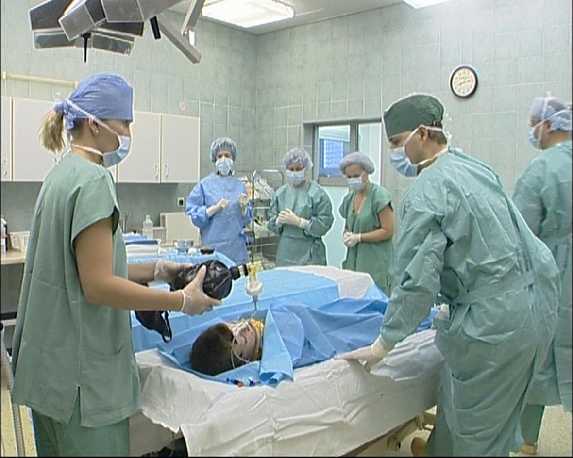 Jedna z desítek operací