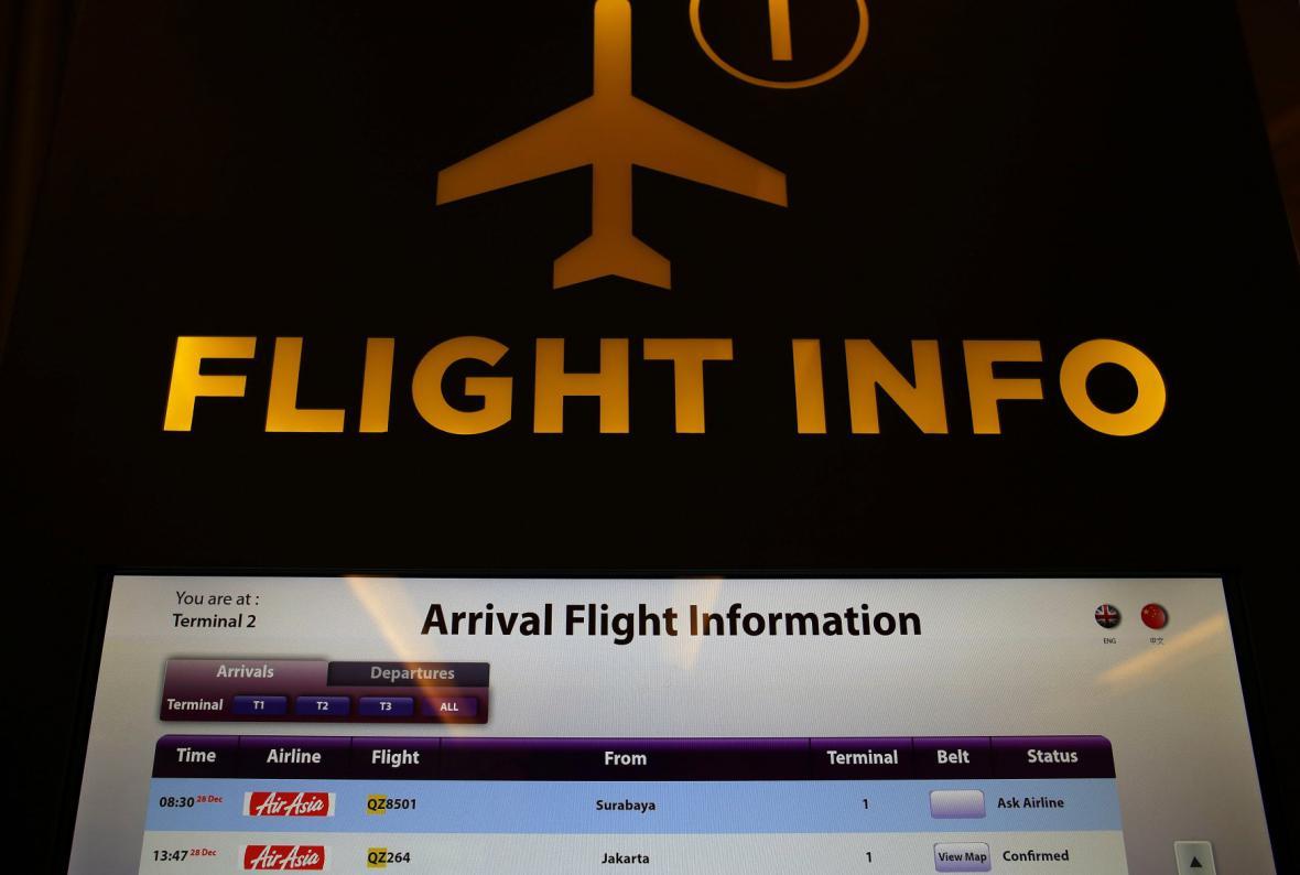 Zmizel další malajsijský letoun