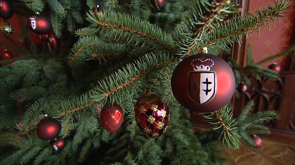 Sychrovská vánoční výzdoba