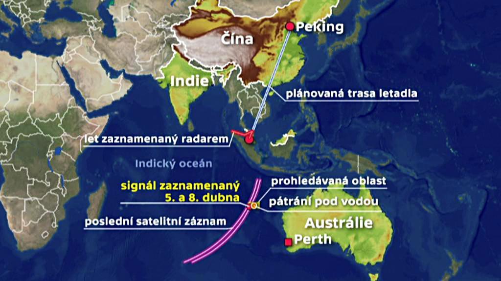 Pátrání po malajsijském letadle
