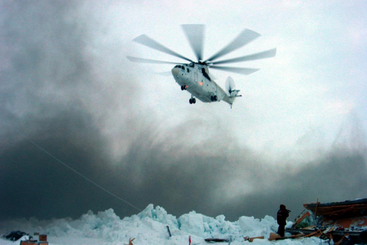 Ruská expedice v Arktidě