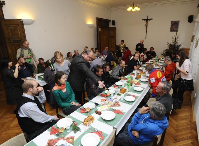 Vánoční oběd byl u svatého Jakuba už podesáté