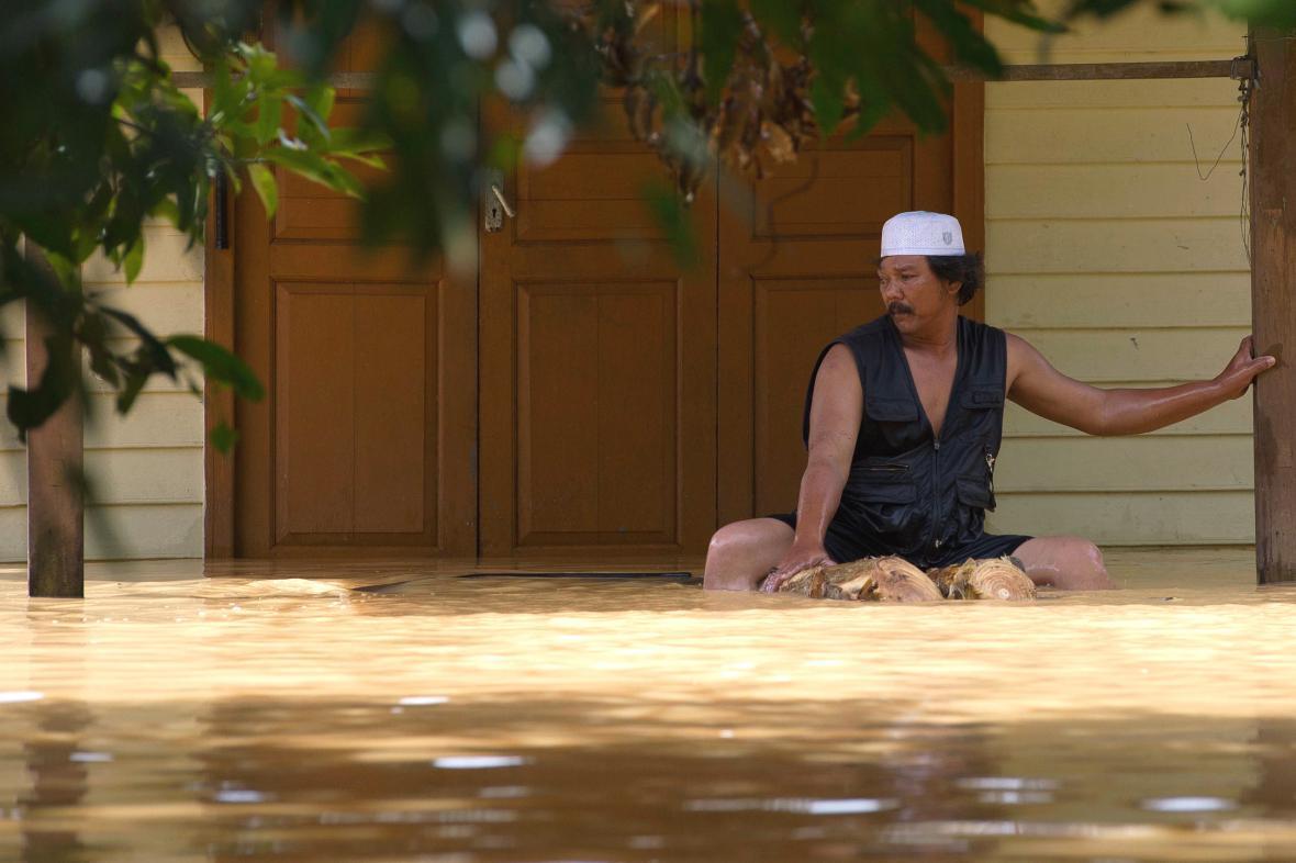 Záplavy v Malajsii