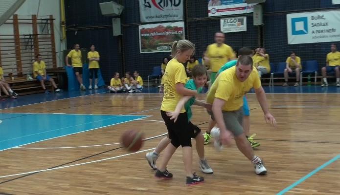 Basketmaraton v Kolíně
