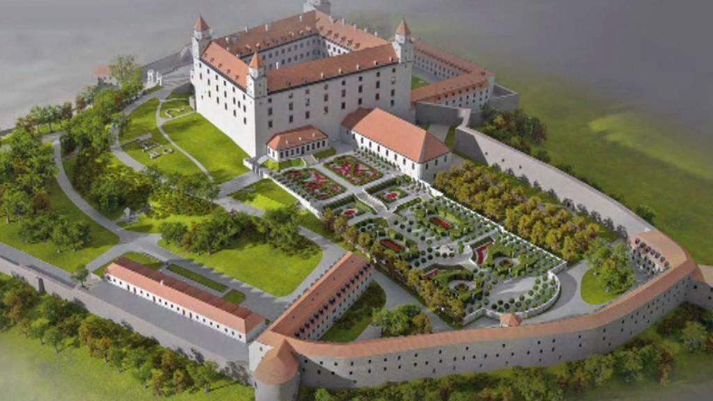 Bratislavský hrad bude mít nové podzemní parkoviště