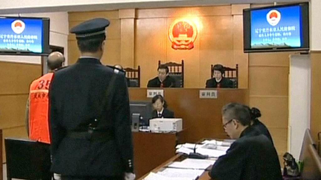 Soud s čínským korupčníkem