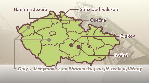 Naleziště uranu na území ČR