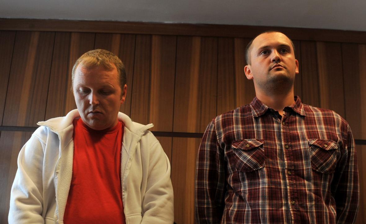 Marek Ženíšek (vlevo) a Petr Hlava