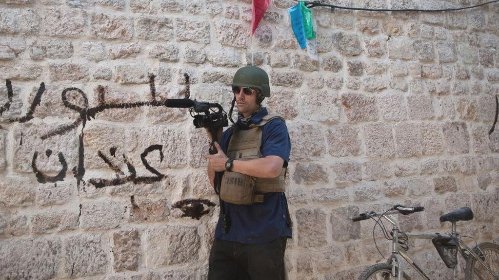 James Foley zhruba čtvrt roku před svým zmizením