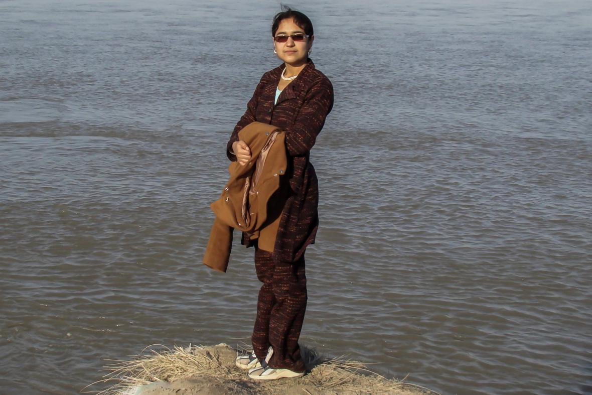 Afghánská novinářka Palwasha Tokhi byla v září 2014 ubodána neznámým mužem