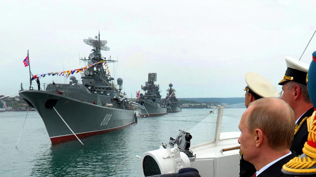 Putin na Krymu