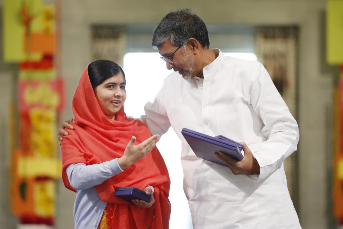 Nobelova cena míru pro Malalu