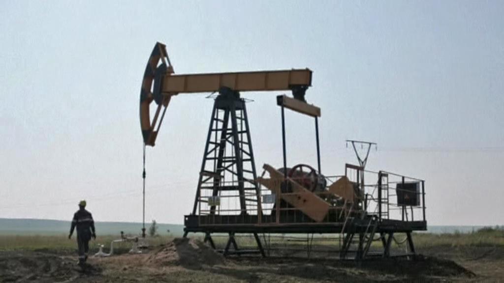 Těžba ropy v Sýrii