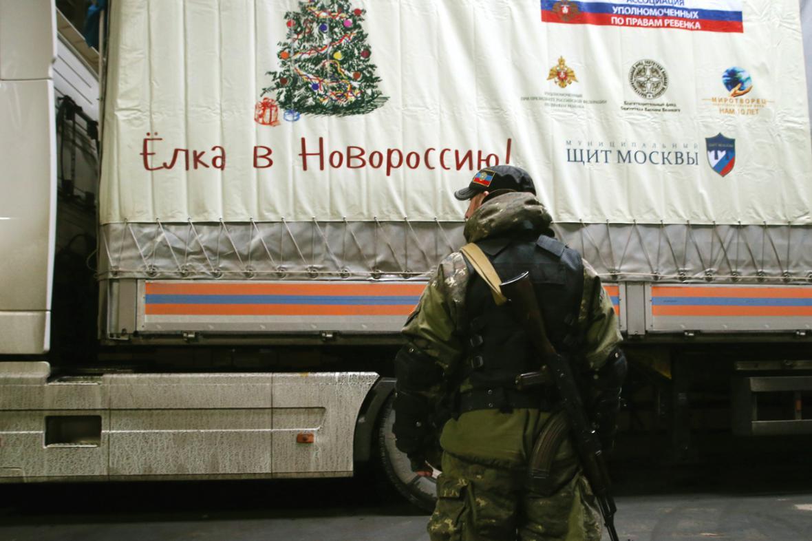 Desátý ruský konvoj pro Ukrajinu