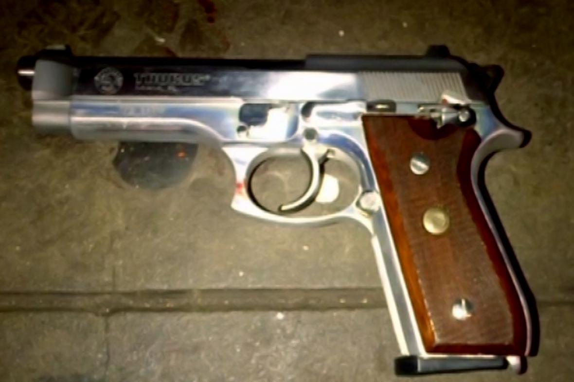Zbraň, jíž byli zastřeleni dva policisté v New Yorku