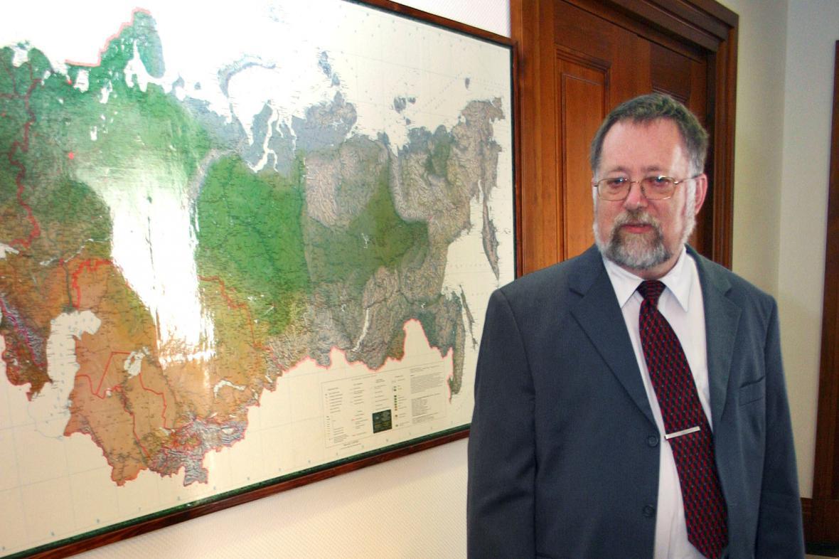 Jaroslav Bašta v roce 2005, ještě jako velvyslanec v Rusku