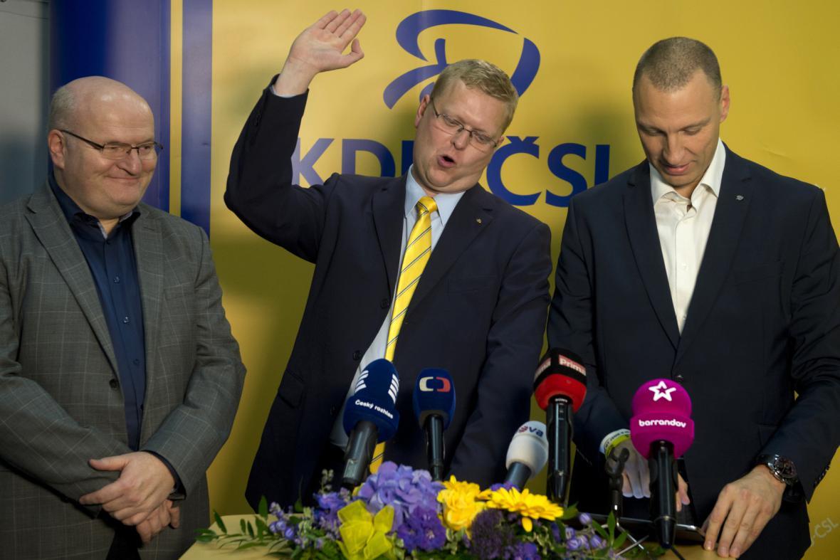 Pavel Bělobrádek a vedení KDU-ČSL