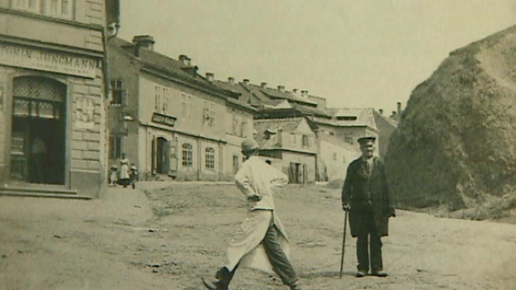 Libeň na archivním snímku